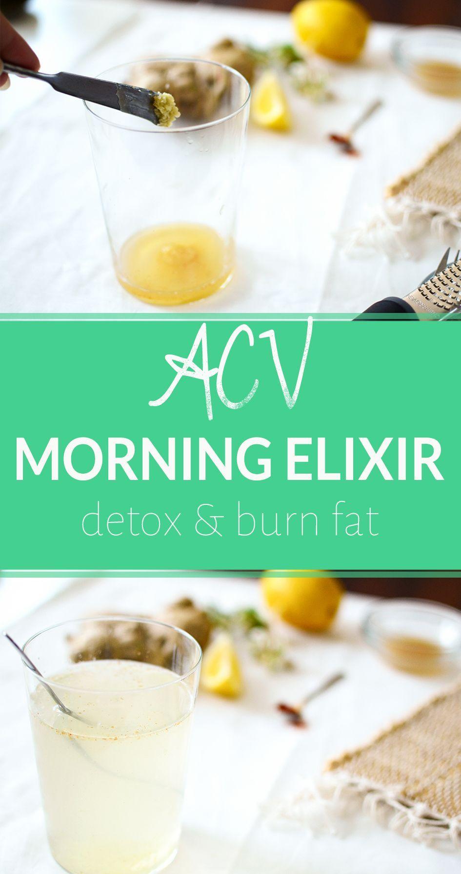 Pin on detox drinks fat burning acv