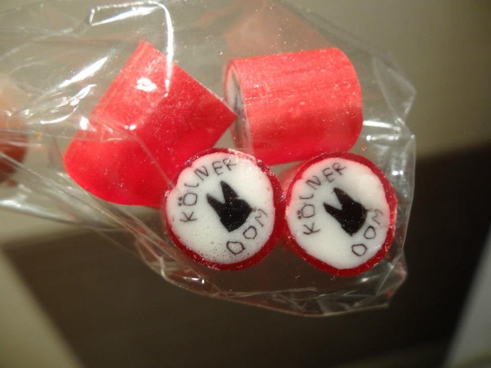 Für alle Köln Fans gibt es unsere drei besten Kölner Bonbons im Mix.