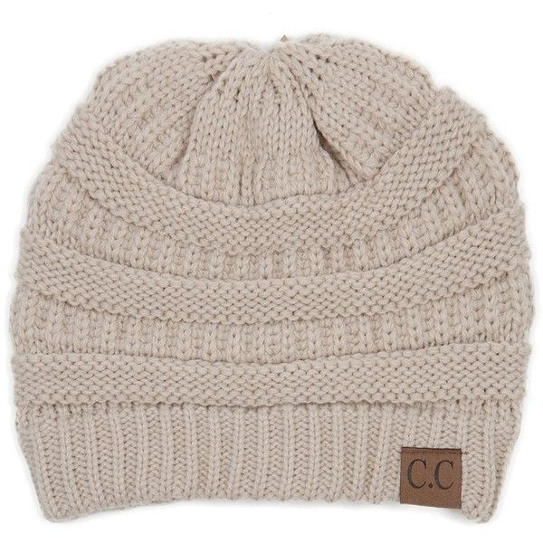 C.C. Beanies Ribbed Beanie (1.165 RUB) ❤ liked on Polyvore featuring accessories, hats, ribbed hat, ribbed beanie, beanie cap hat, beanie hat and beanie cap