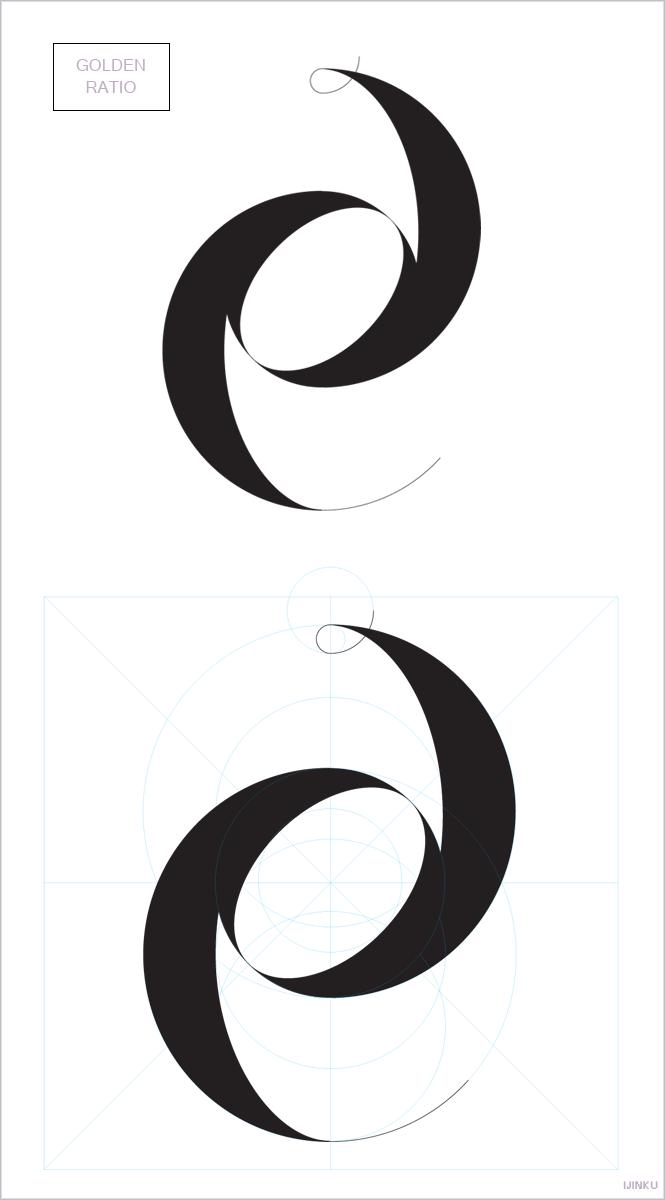 Ijinku Golden Ratio Logo Process Golden Ratio Logo Graphic Design Trends Logo Process