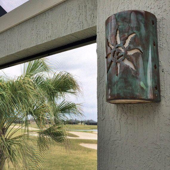 Jagged Sun Outdoor Wall Light Southwestern By