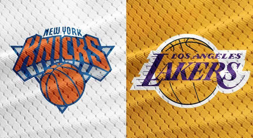 Nba National Basketball Association Teams Stats News Rumors Others Lakers Vs New York Knicks Lakers