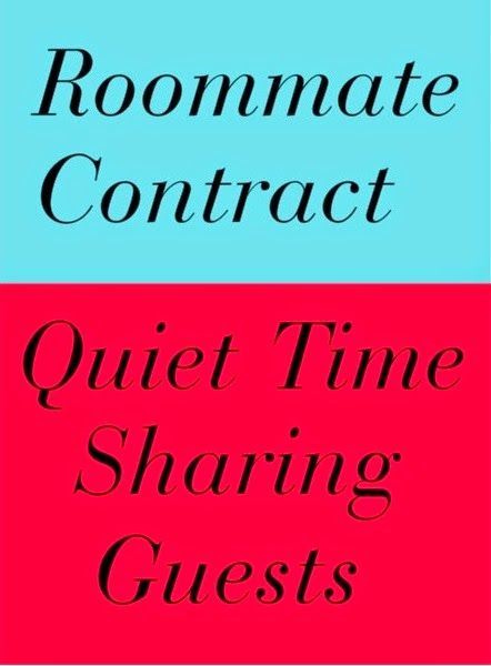 What To Include When Making A Roommate Contract Truth About