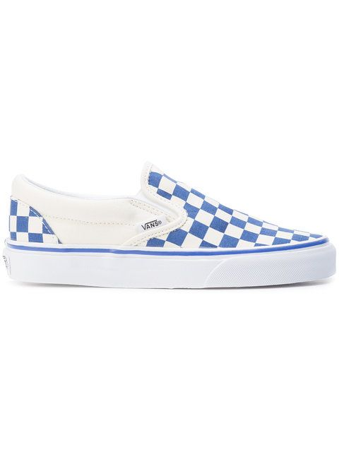 vans slip on blu navy