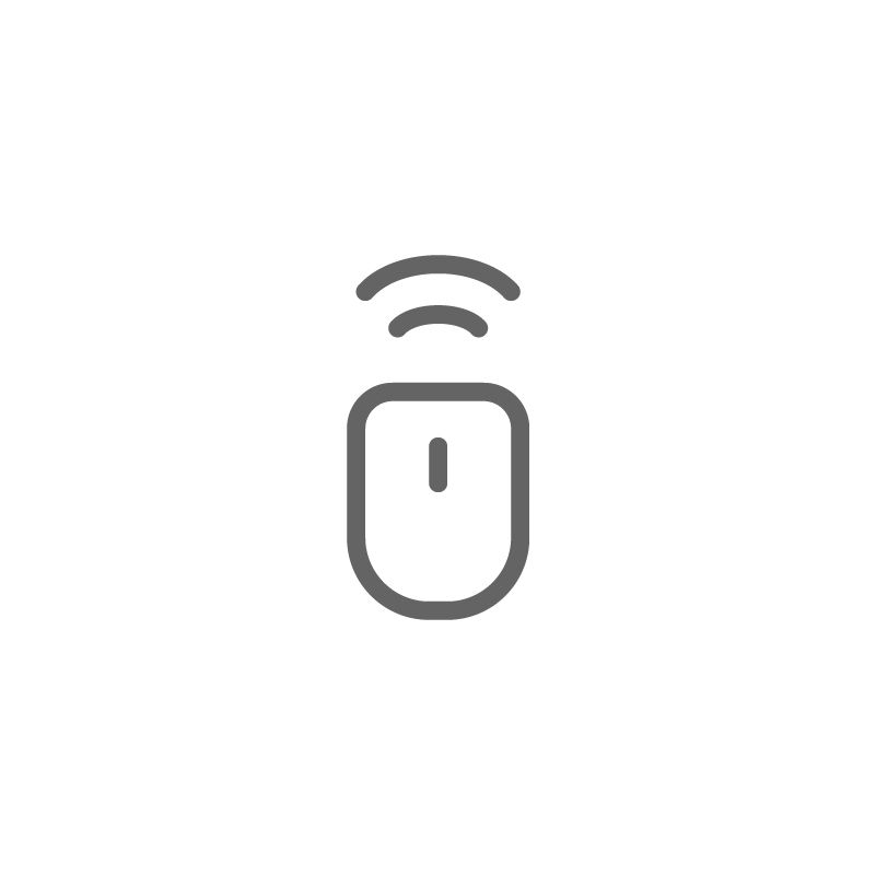 Mouse Wireless Icon Mouse Wireless Bluetooth Icon Logo Symbol Vector Design Icon Bluetooth Devices