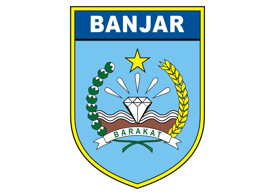 Logo Pemkab Banjar Vector Desain
