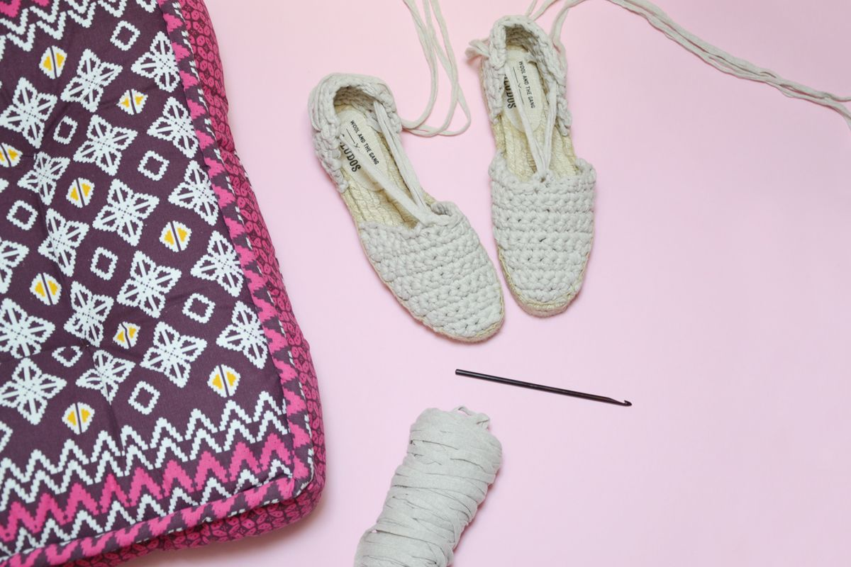 Photo of Espadrillas crochet: un facile fai-da-te all'uncinetto per l'estate