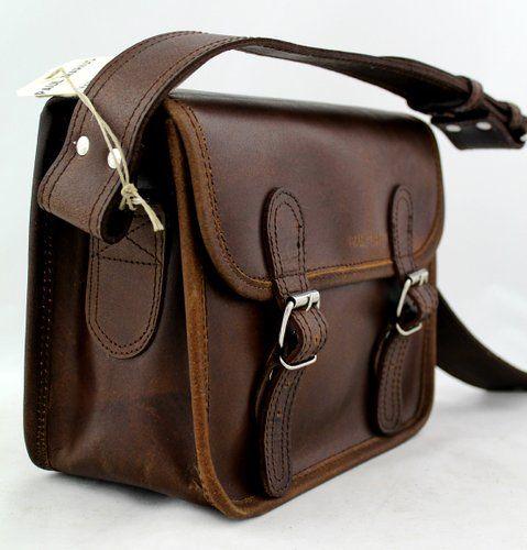 LA SACOCHE cuir couleur INDUS Besace bandouli/ère style Vintage PAUL MARIUS L