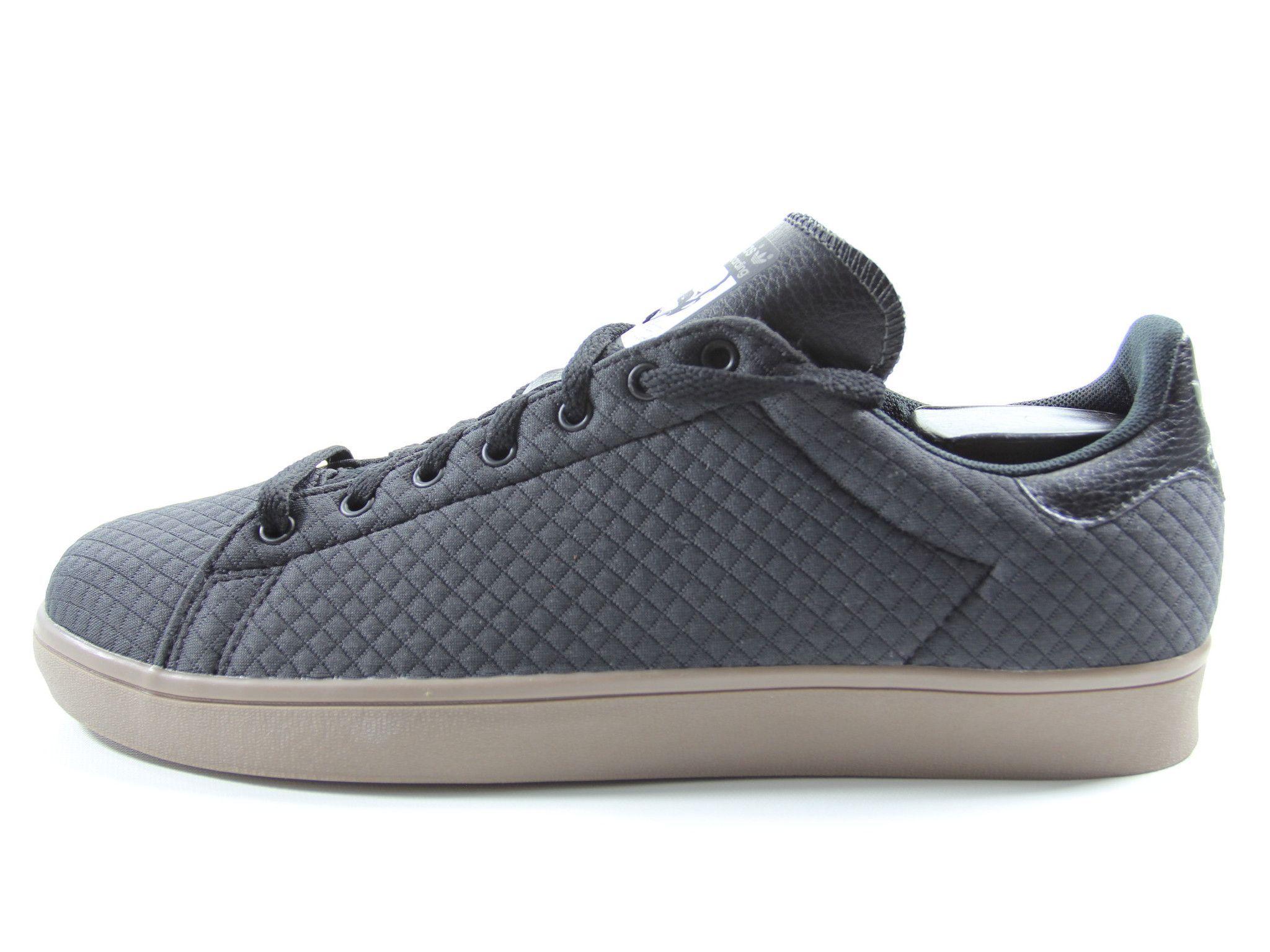 Adidas Stan Smith Black Gum Sole