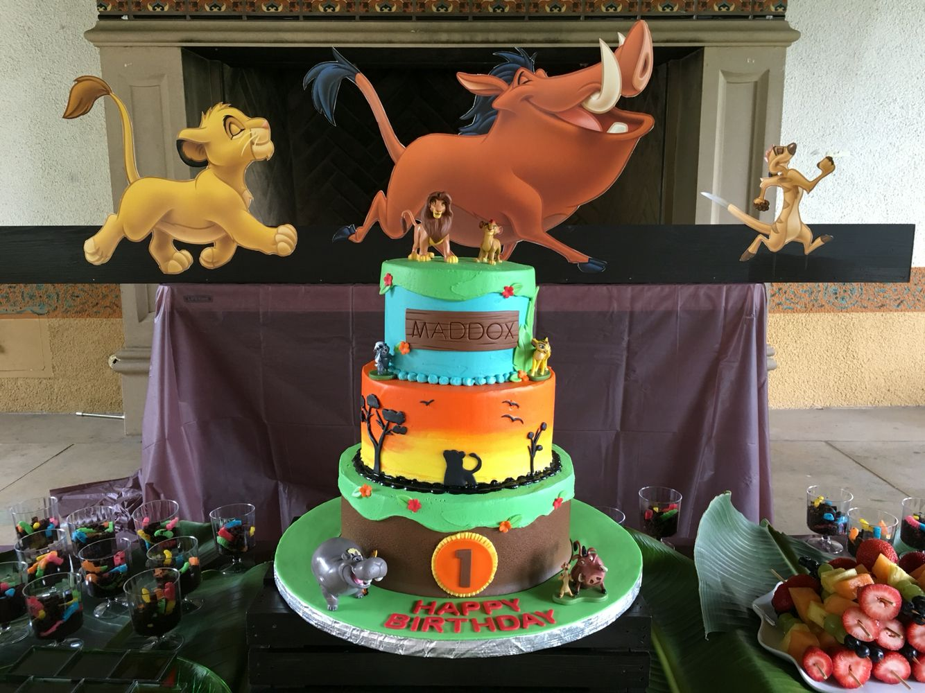 Lion Guard Cake With Images Lion King Birthday Party Ideas