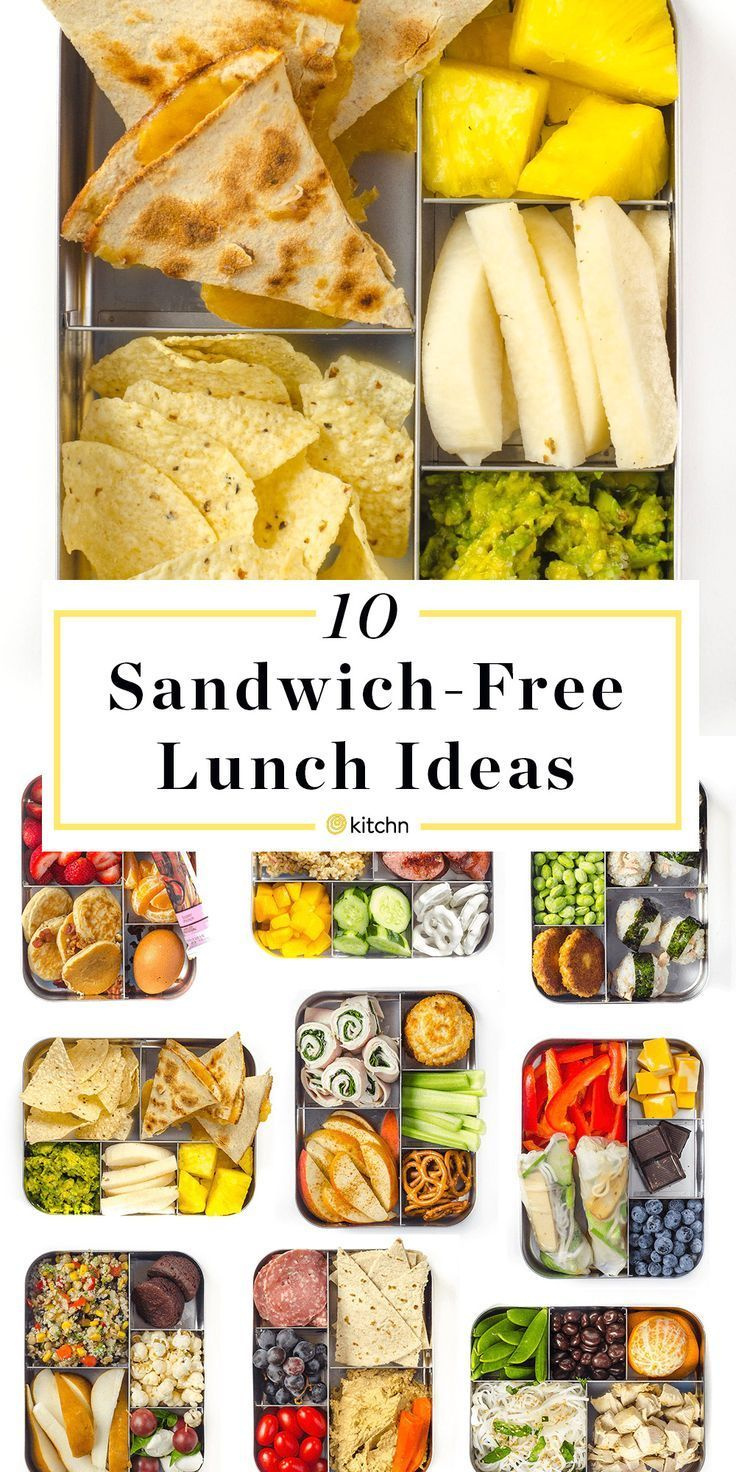 10 Prep-and-Pack Lunch Ideas That Aren't Sandwiches