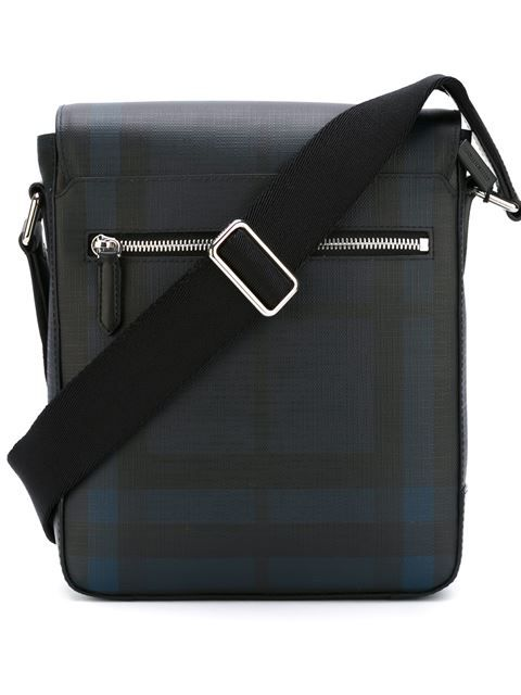 aadbadd1fcbf BURBERRY Checked Messenger Bag.  burberry  bags  shoulder bags  leather  pvc