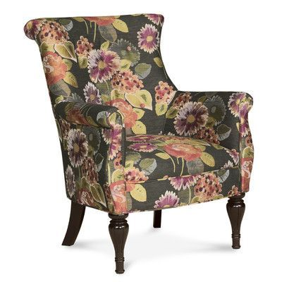 Fairfield Chair Bombe Traditional Wingback Chair Color: Coral