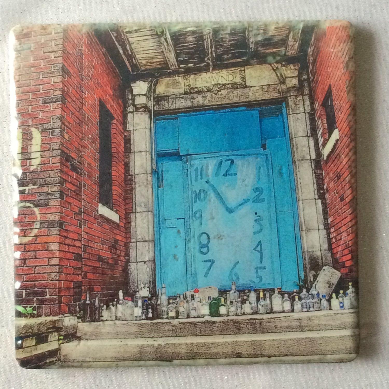 Detroit Gift, MotorCity, Detroit Trivet, Detroit Tile, Graffiti Gift by CasaDeVero on Etsy