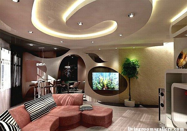 puzzle lights luxury gypsum ceiling design 2015 with led ceiling lights for living  room - Puzzle Lights Luxury Gypsum Ceiling Design 2015 With Led Ceiling