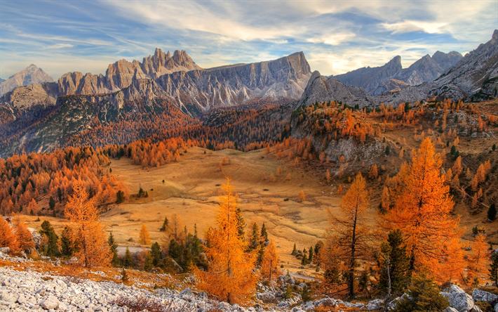 Scarica Sfondi Dolomiti 4k Autunno Montagna Italia Europa