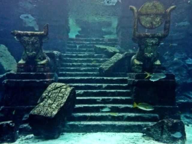 atlantis underwater civilizaciones perdias pinterest atlantis