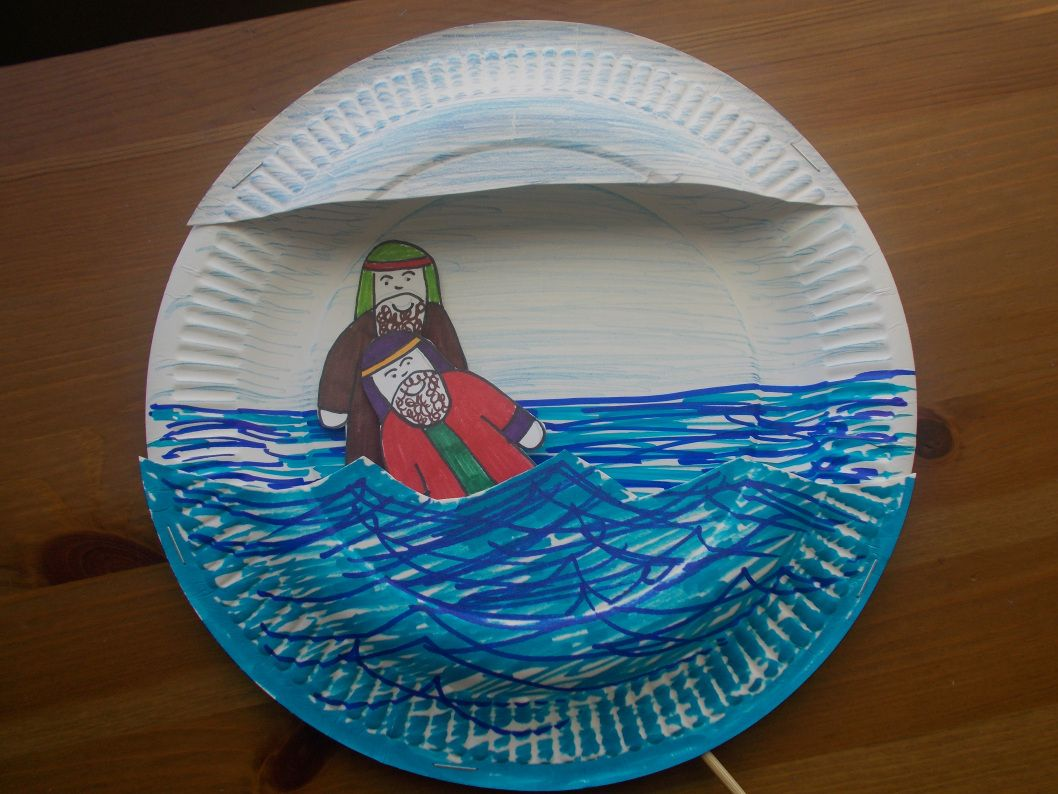 John Baptizing Jesus Craft Tutorial