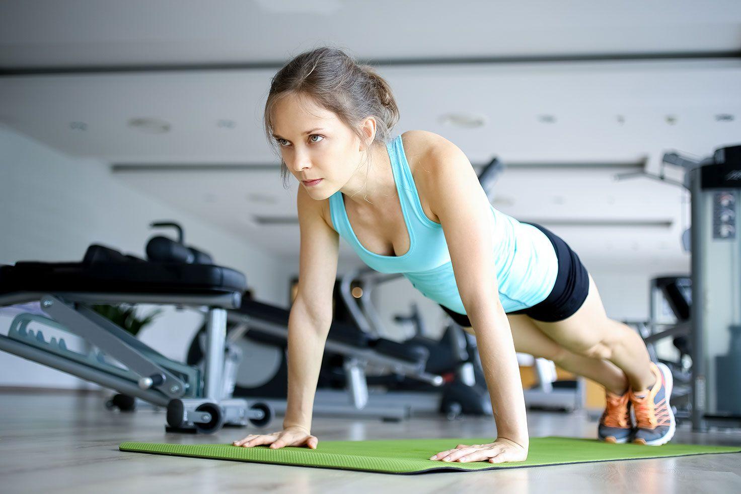 Фото тренировка похудения