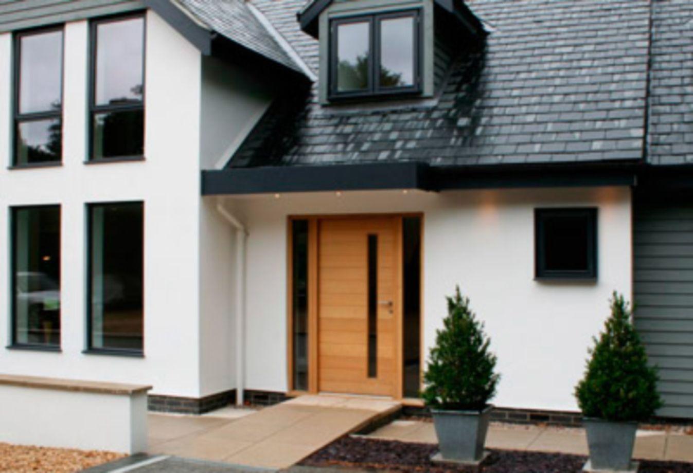 Exterior modern siding window design   beautiful front door exterior design ideas  front doors