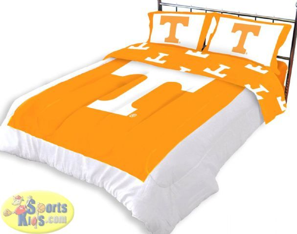 Tennessee Volunteers Comforter Set Ethans Bedroom Dorm