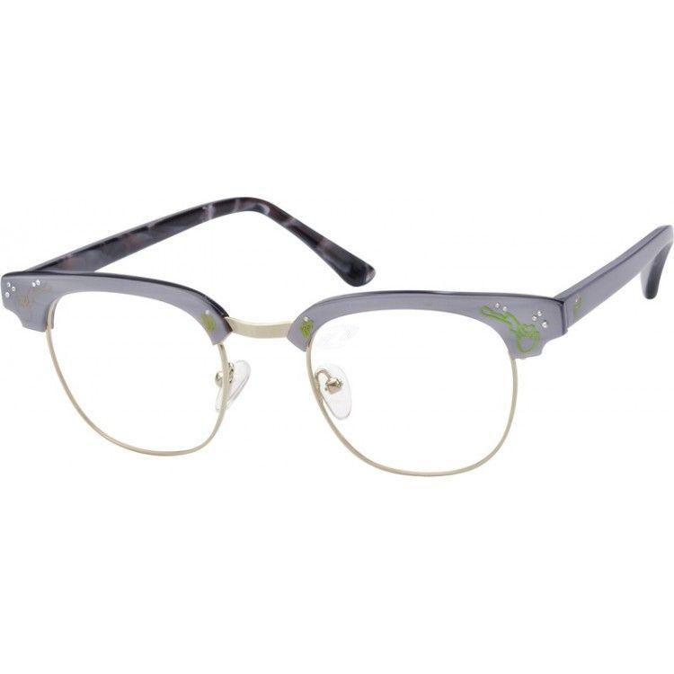 Gray Acetate Full-Rim Frame #754012 | Zenni Optical Eyeglasses | My ...