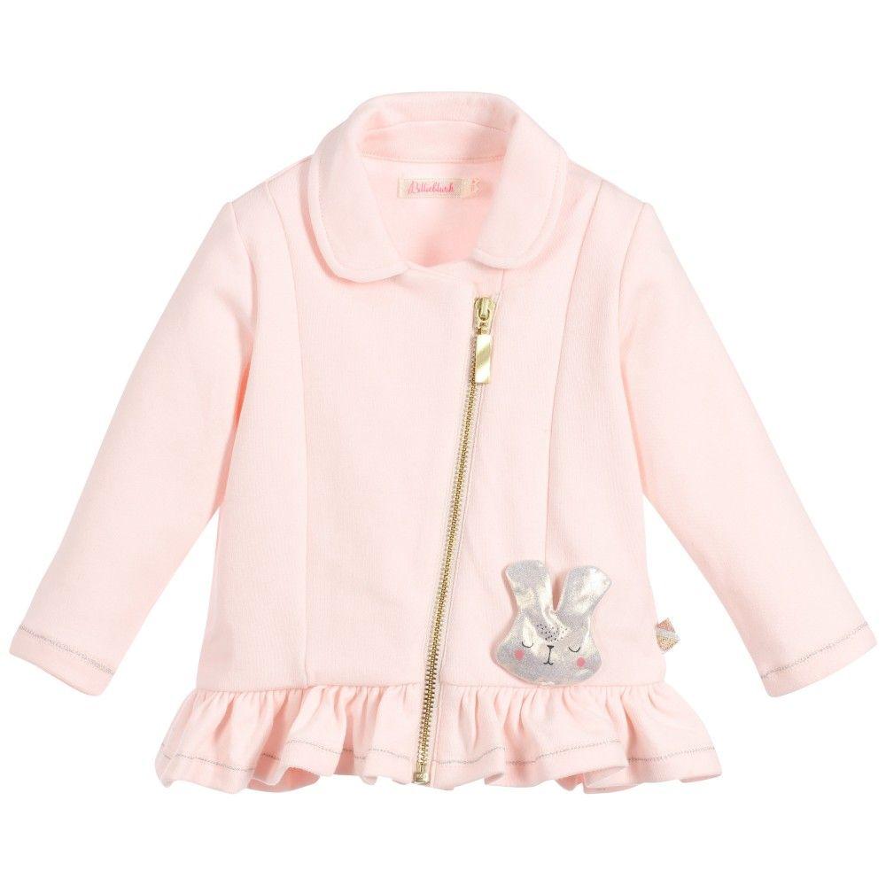 6dcb7f3781a4 BILLIEBLUSH Baby Girls Pink Milano Jersey Cardigan   Billieblush Girls  Clothes   Pink girl, Red pleated skirt, Pink