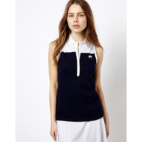 Lacoste Sport Zip Collar Tennis Dress Tennis Dress Fashion Lacoste Sport