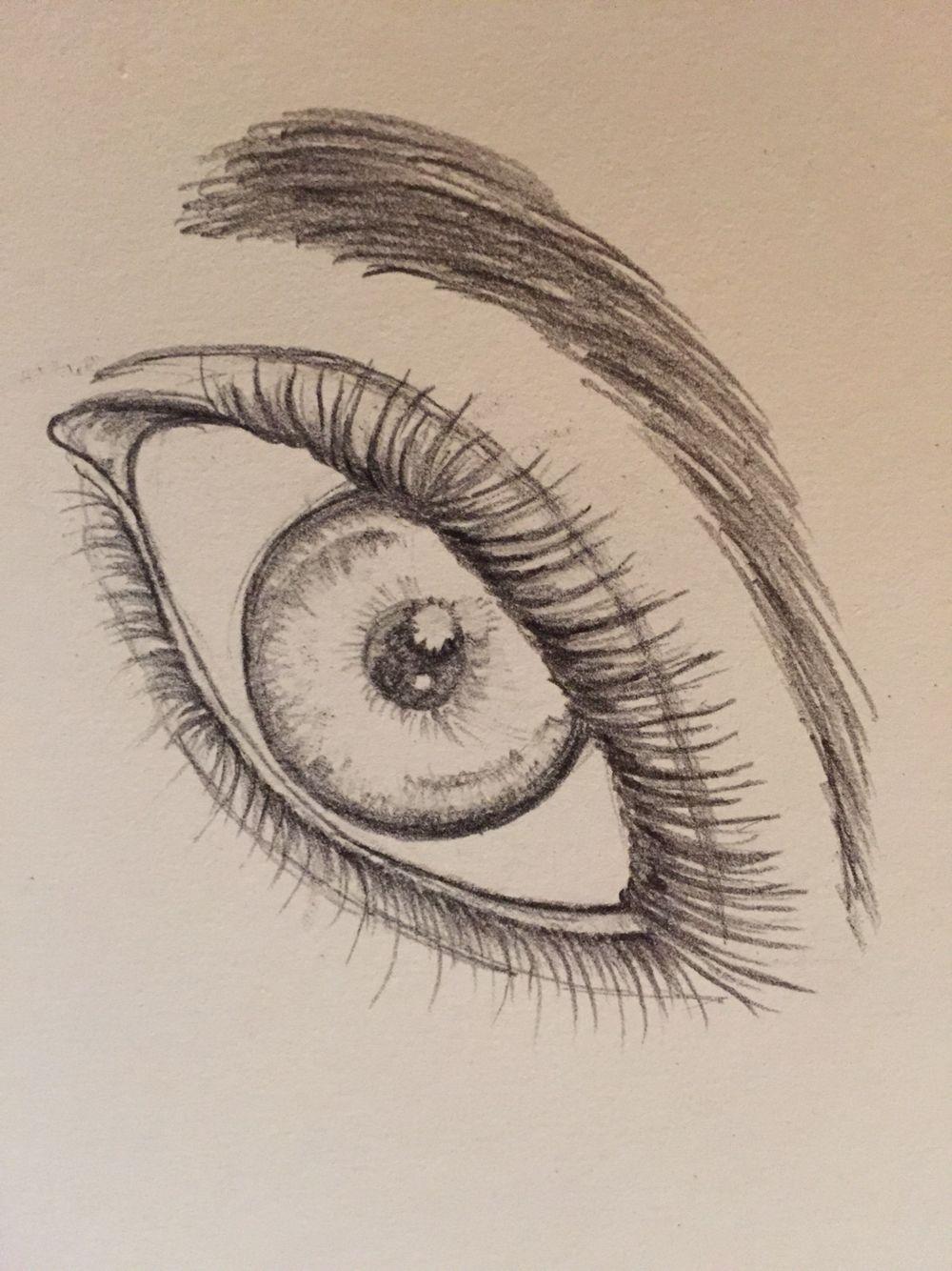Quick eye pencil sketch eye pencil sketch drawing ideas art drawings doodles