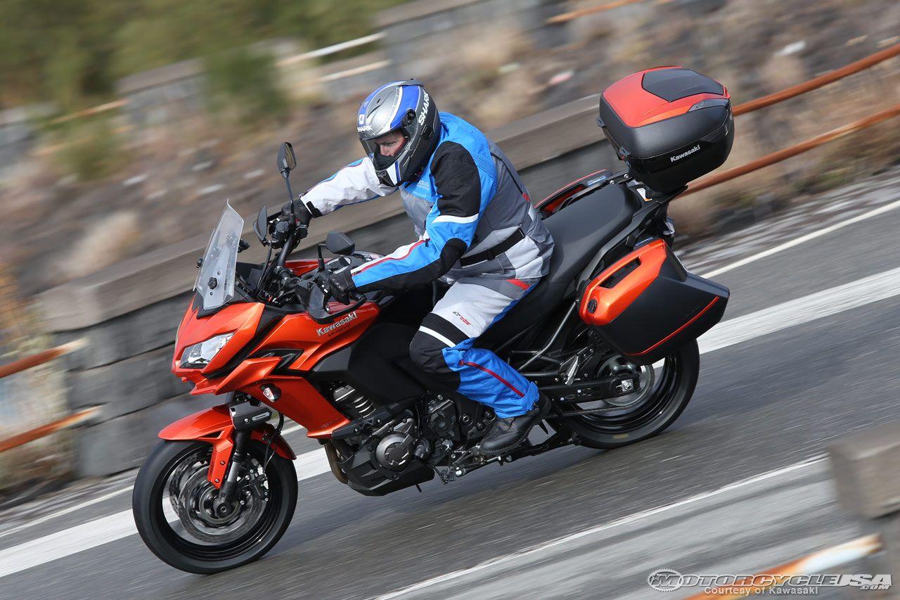 2015 Kawasaki Versys 1000 First Ride - Motorcycle USA