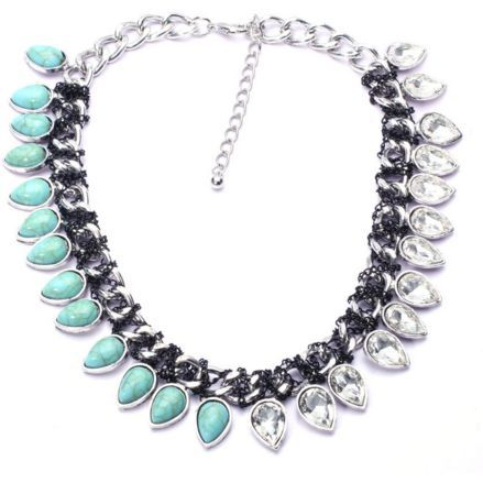 Quinn Turquoise Statement Necklace