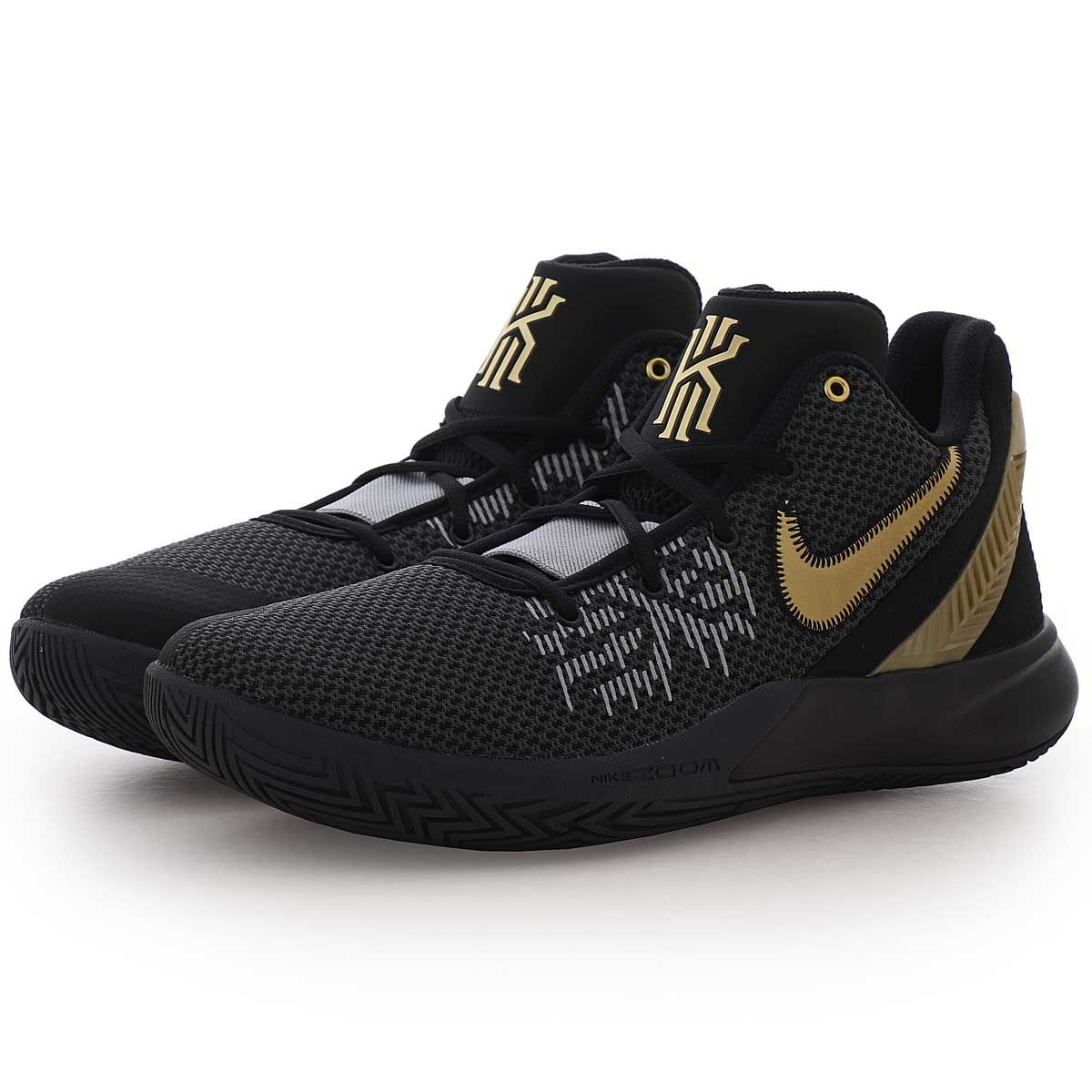 Nike Kyrie Fliegenfalle Ii Manner Blk Blk Gld 004 Basketball Schuhe Nike Nike Kyrie Nike Shoes