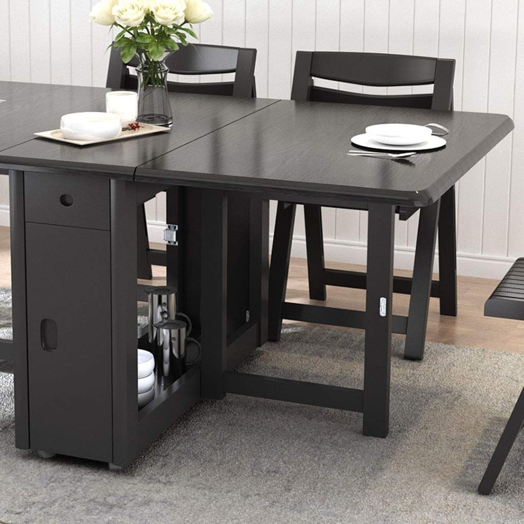 27+ Black fold away dining table and chairs Best Choice