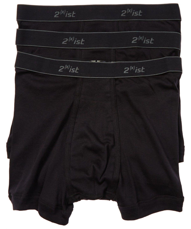 55f3f5b16af9 2XIST 2(X)Ist 3-Pack Black Cotton Boxer Briefs'. #2xist #cloth #socks &  underwear