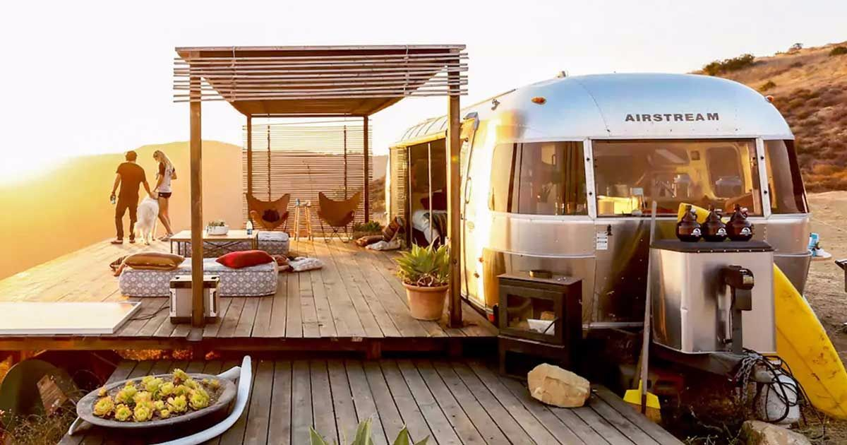 Marvel at this open-air Airstream renovation: You've never seen anything like it