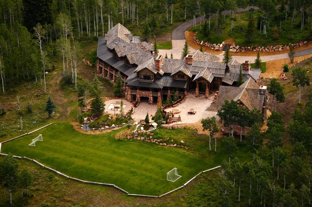 Mountain Home With Soccer Field