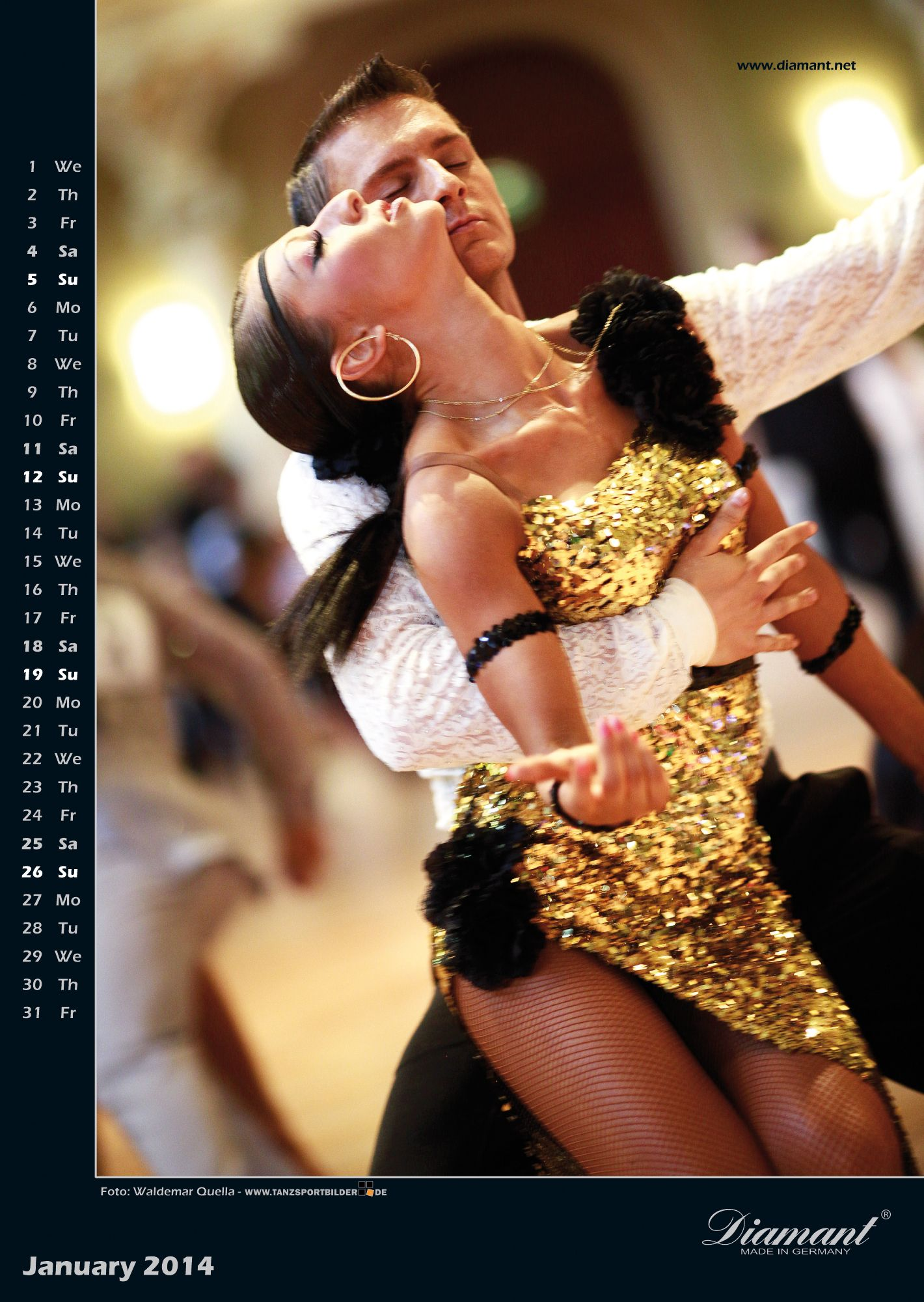 Diamant Dance Emotions January
