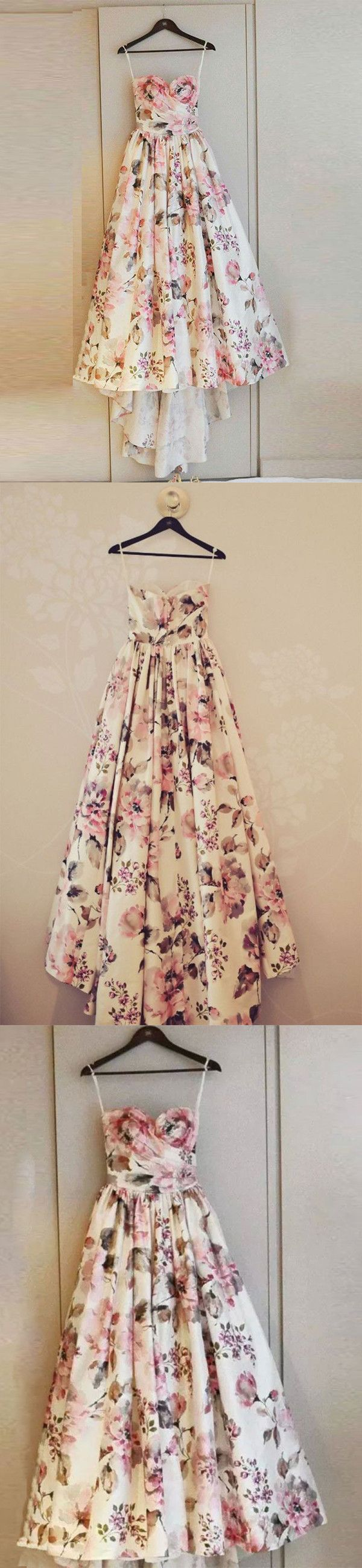 Chic pink prom dress flower vintage prom dress vb long prom