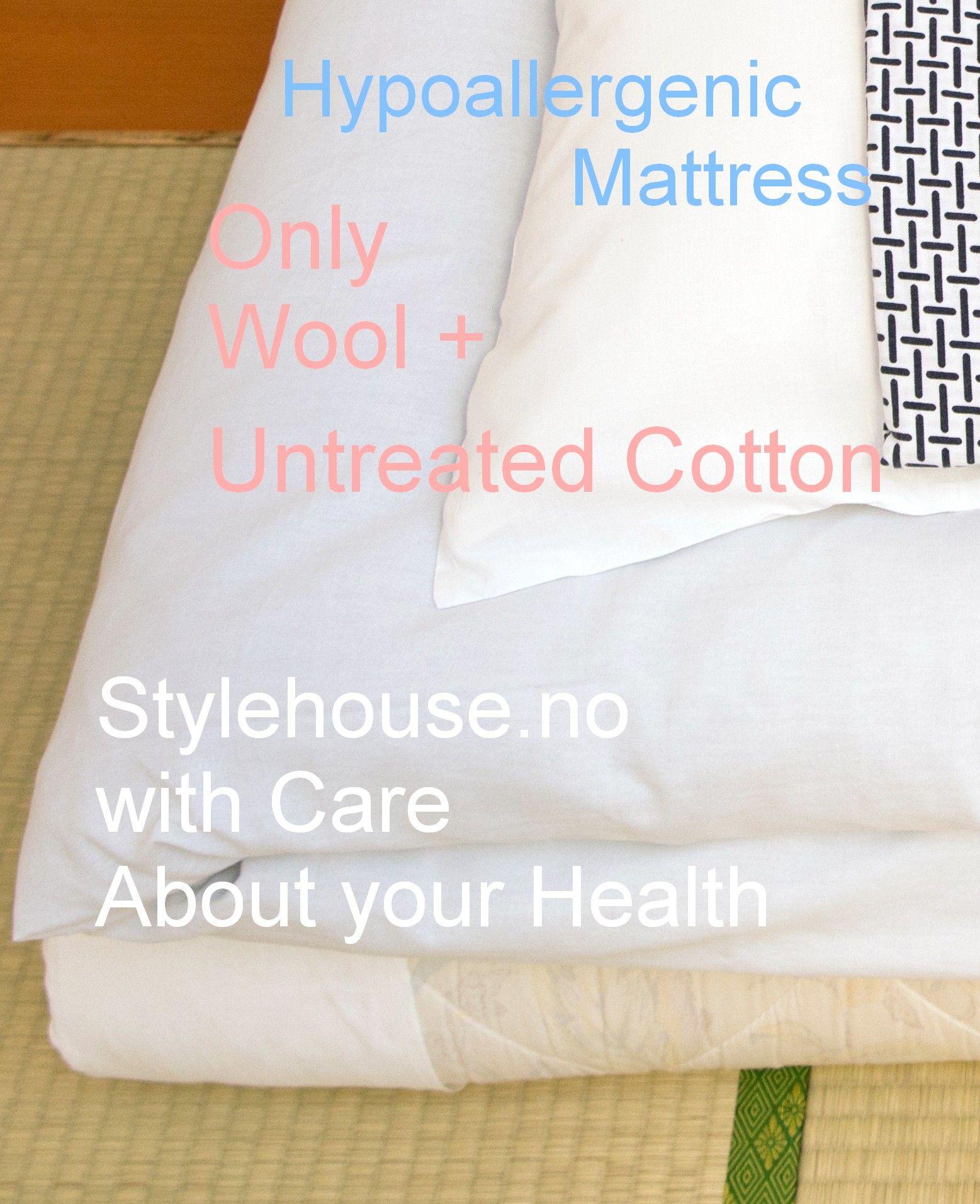 Wool Top Mattress