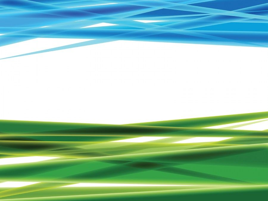 Green And Blue Abstract 3d Ppt Backgrounds For Templates