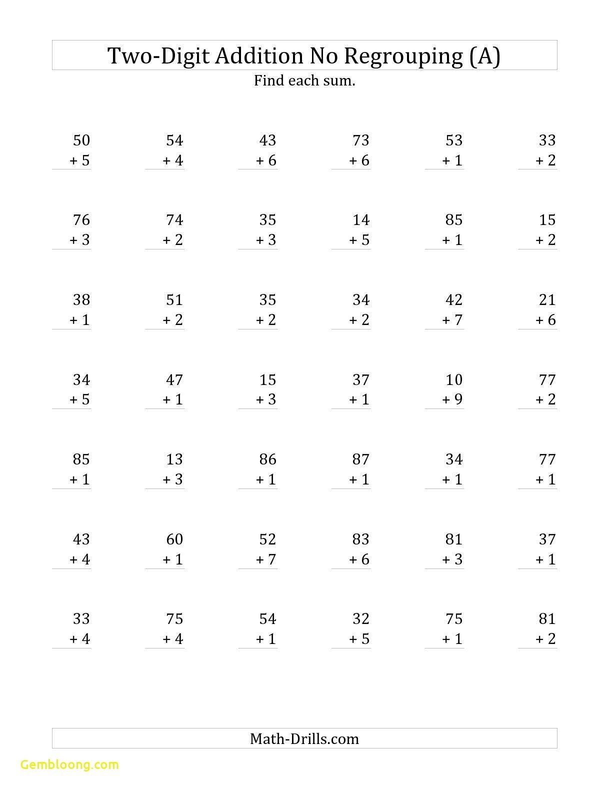 Prime Addition Math Facts Worksheets Worksheet Printable