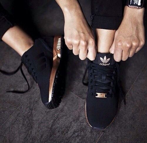adidas, black, and shoes