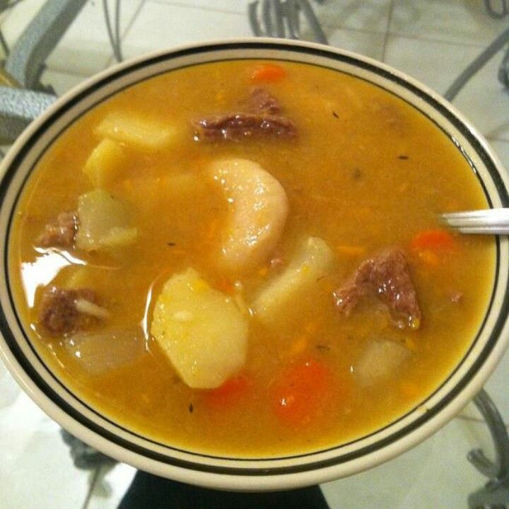 beef soup traditional saturday lunch especially on a rainy
