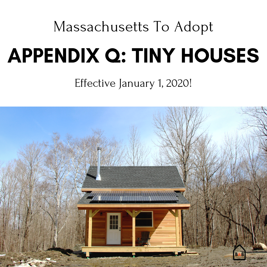 Tiny House Appendix Adopted In Ma Effective 1 1 2020