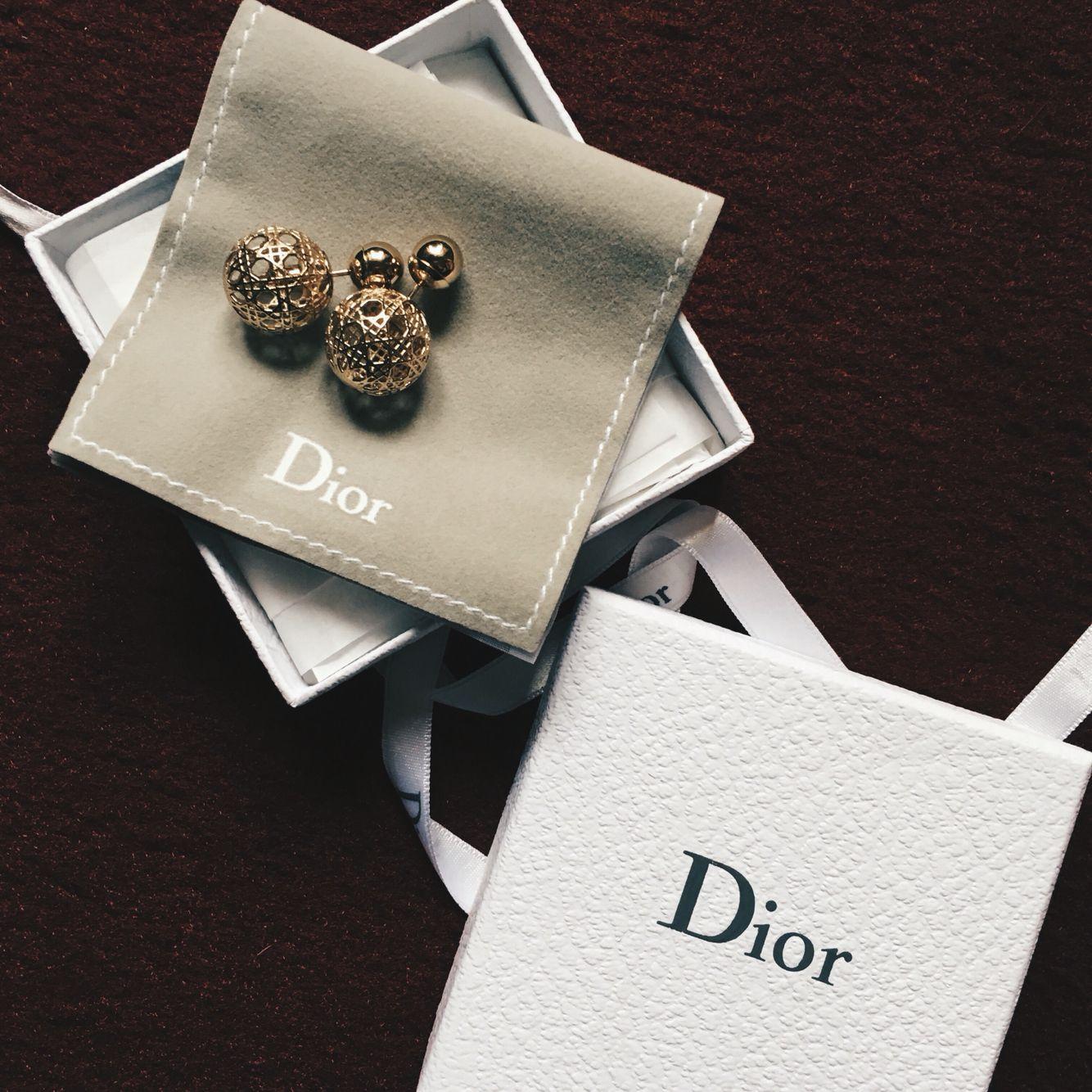 Dior triable earrings