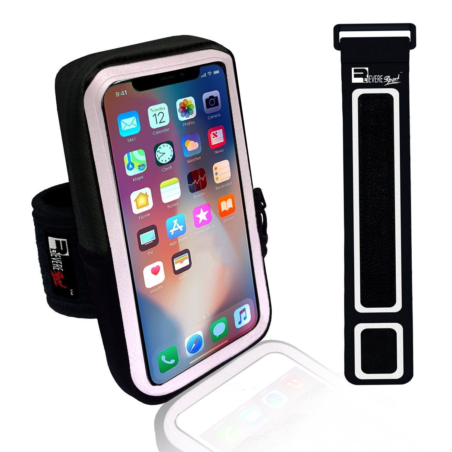 wholesale dealer 9488f 4fb64 iPhone X / 10 Running Armband. Sports Phone Holder Case for Joggers ...