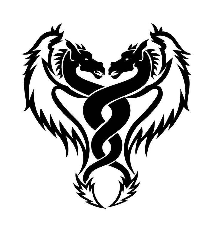 Dragon Tattoo Designs Elves Lower Back Tattoos