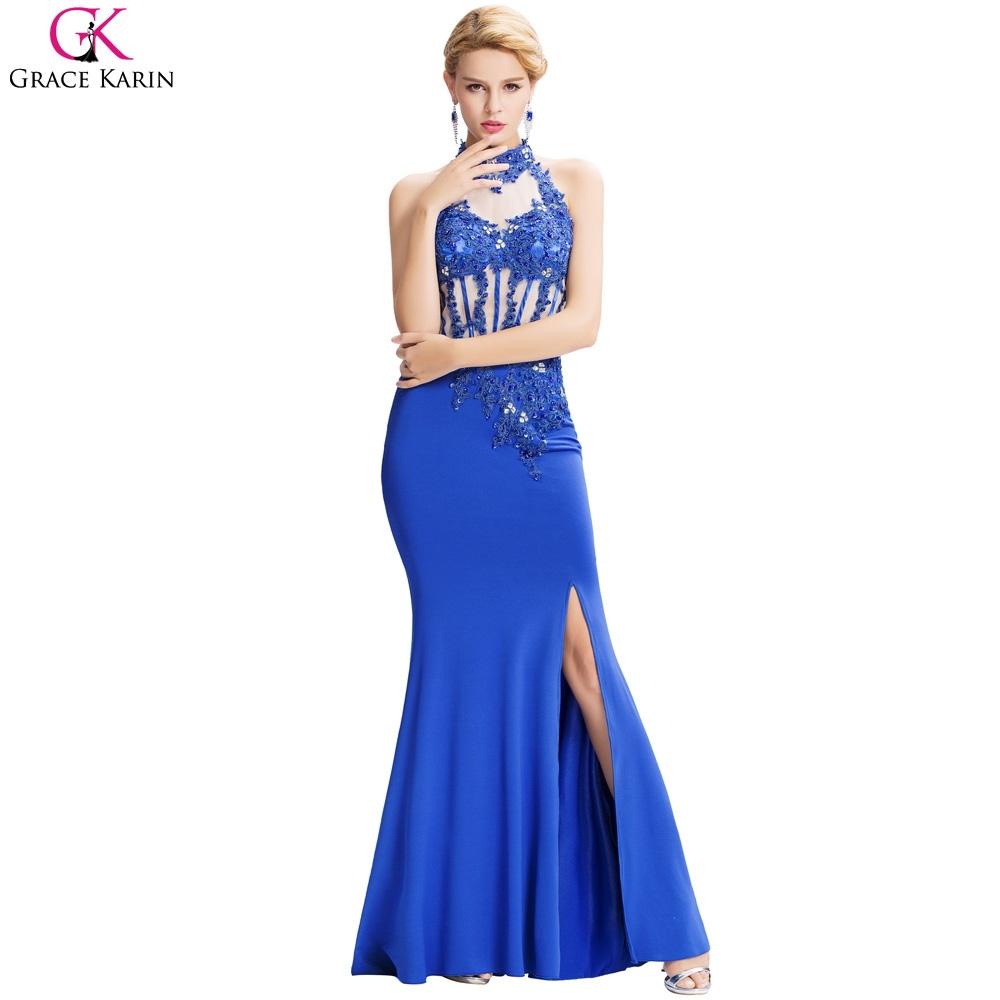 watch more here royal blue mermaid evening dresses grace karin