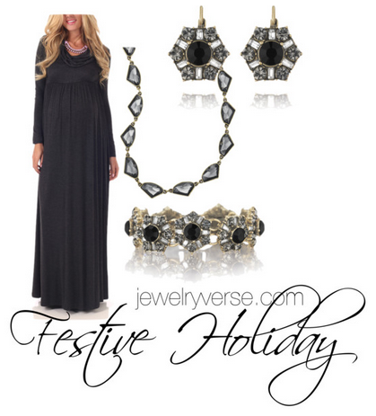 6871736b6f5b0 All deco'd out for NYE. Shiny, sparkly, and pregnant! | from the ...