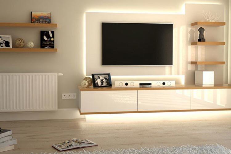 Sistemas de televisión suspendida en la decoración de interiores ...